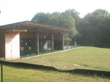 Driving range at  Poult Wood Golf course Tonbridge