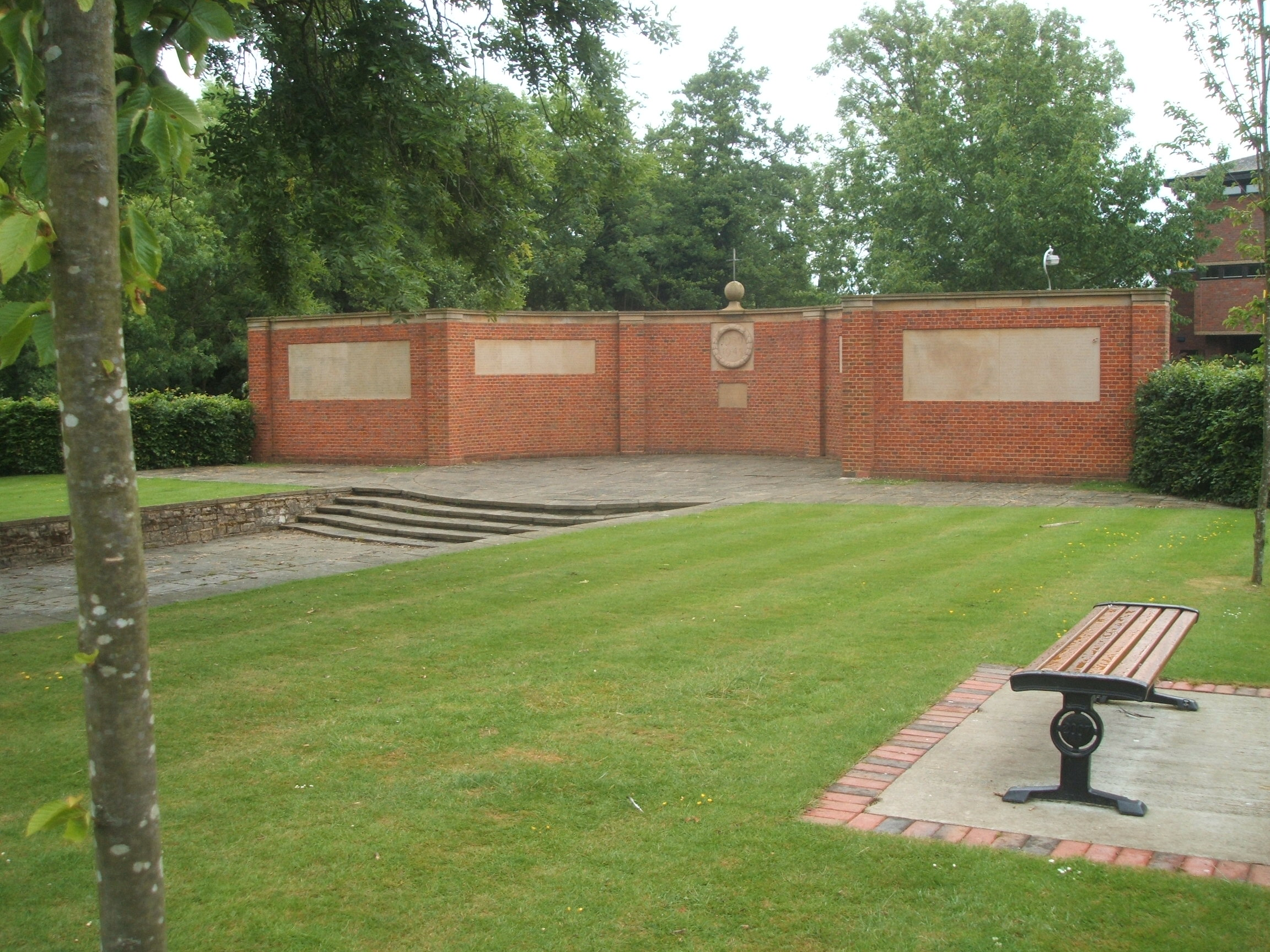 Memorial in Tonbridge