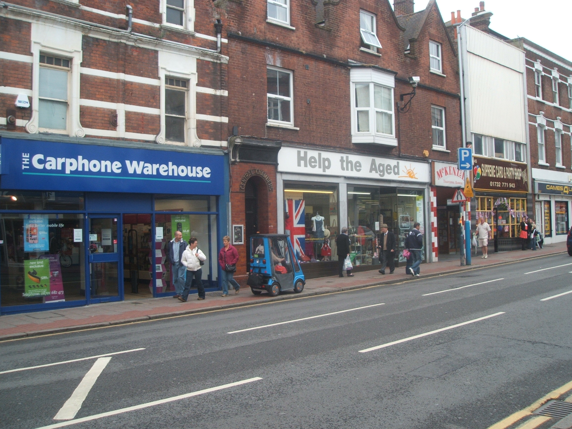 Tonbridge High Street at www.Tonbridgesearch.com