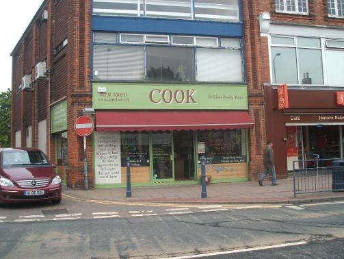 Cook in Tonbridge