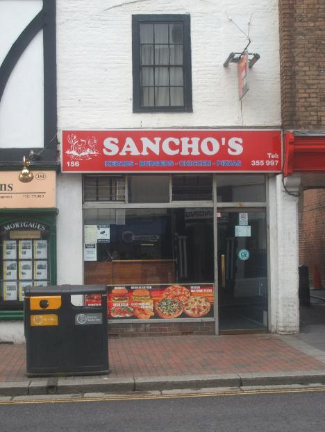Sancho's kebab Tonbridge