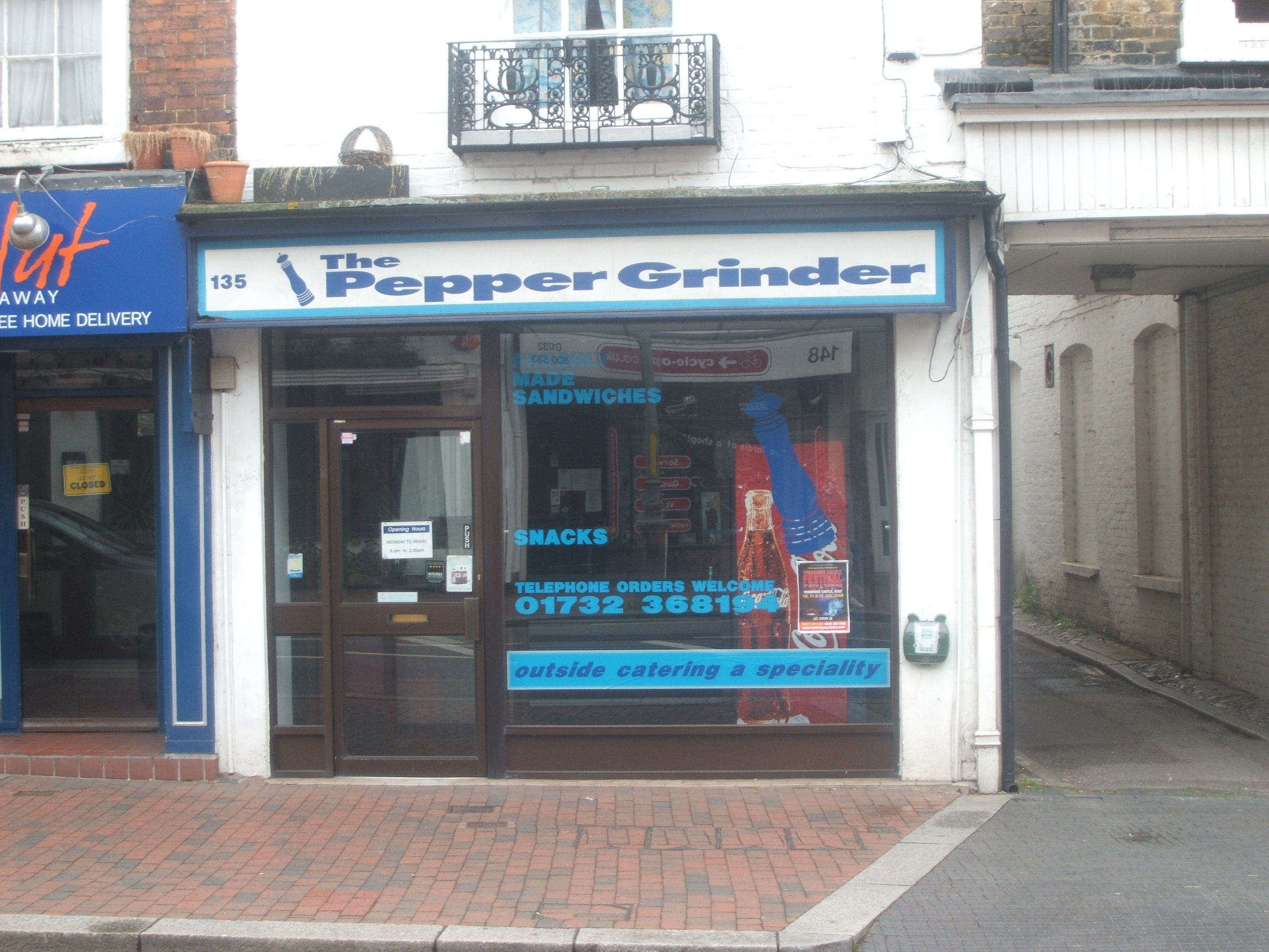 Pepper Grinder Tonbridge