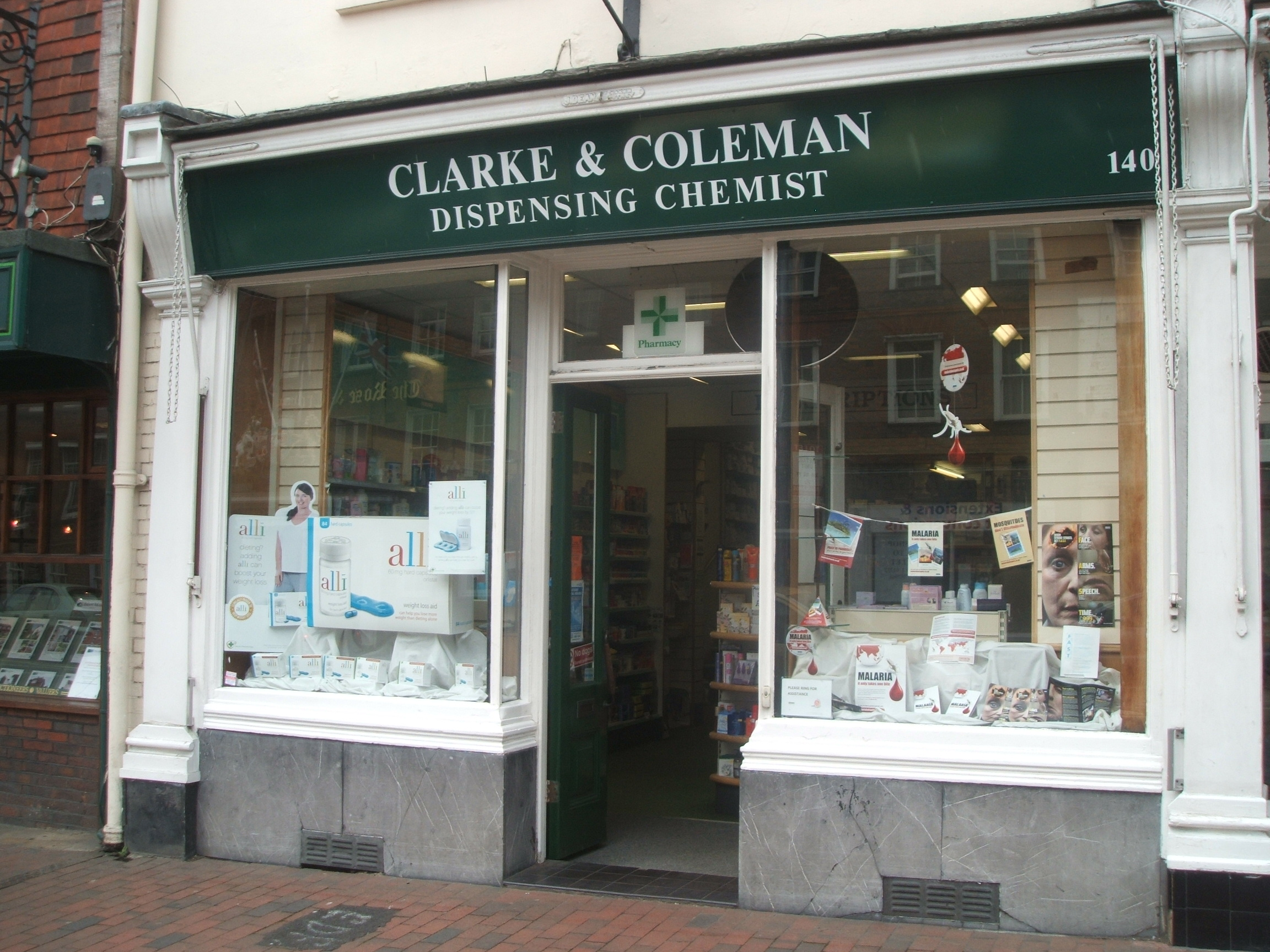 Clarke & Coleman Chemist in Tonbridge