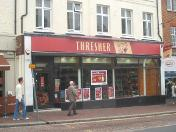 Threshers Tonbridge in closed