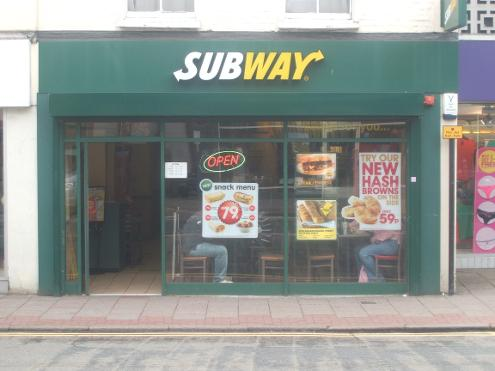 Subway in Tonbridge