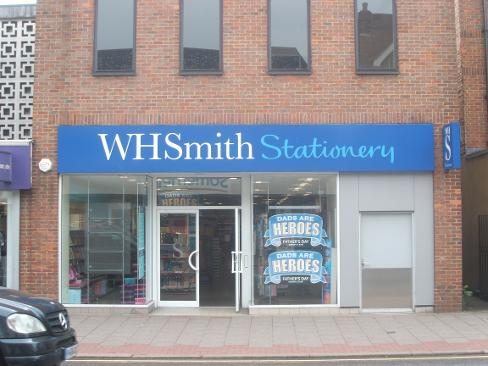 W H Smiths Stationary Tonbridge