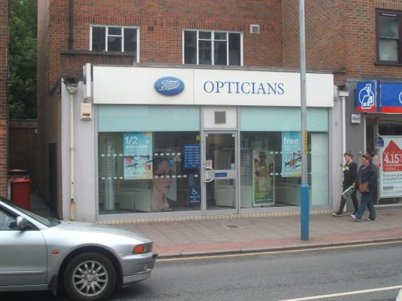 Boots Opticians Tonbridge