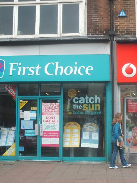 First Choice Travel Agents Tonbridge