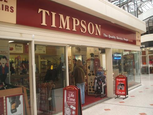 Timpson Tonbridge, Kent