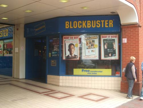 Blockbusters Tonbridge Kent