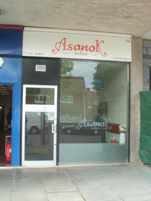Asanok Indian Takeaway in Tonbridge