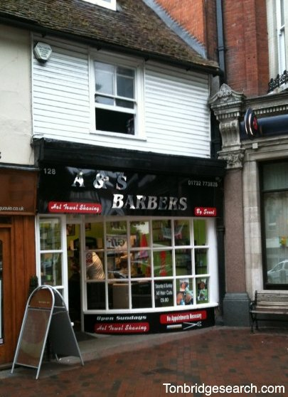 A and S Barbers in Tonbridge