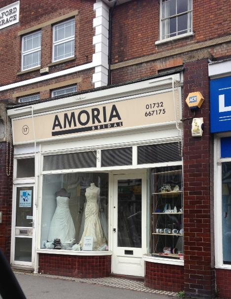 Amoria Bridal in Tonbridge