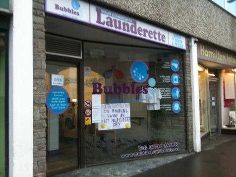 Bubbles Launderette in Tonbridge