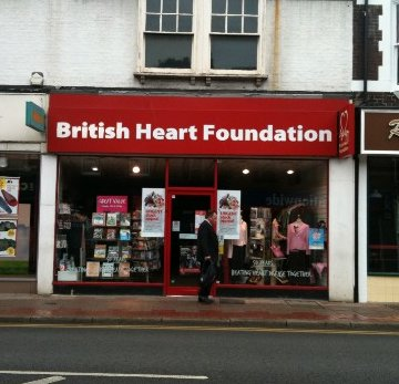 British Heart Foundation in Tonbridge