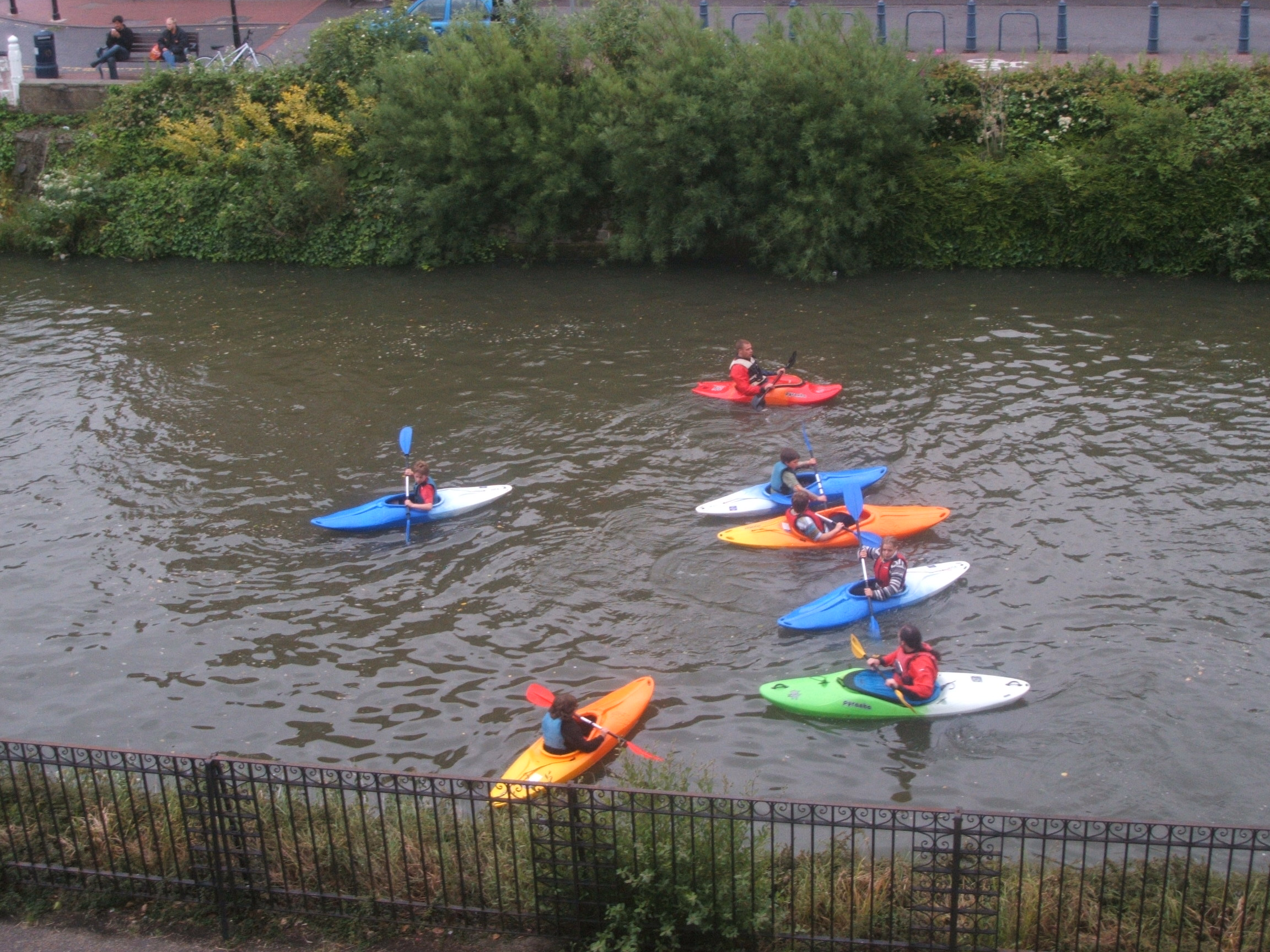 Canoing in Tonbridge