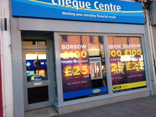 Cheque Centre in Tonbridge