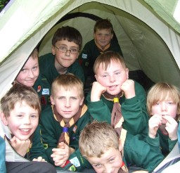 Cubs and Scouts in Tonbridge