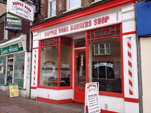 Dapper Dans barbers in Tonbridge