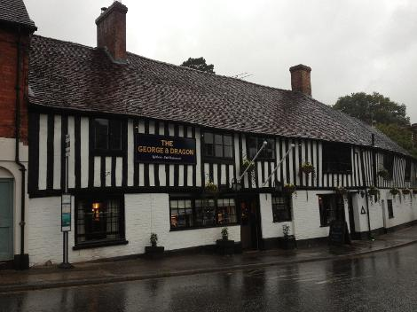 George and Dragon Pub Ightham