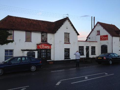 The Harp Pub in East Peckham