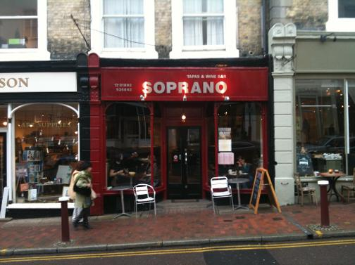 Saprano Tapas Bar Tunbridge Wells