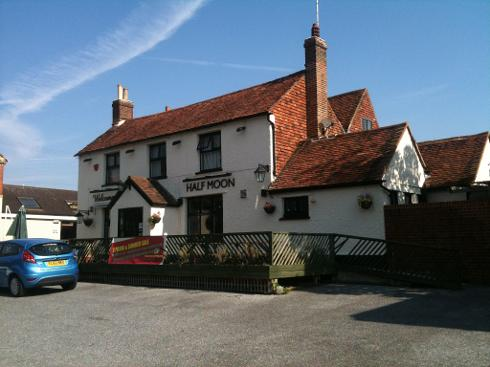 Half Moon Pub Hildenborough
