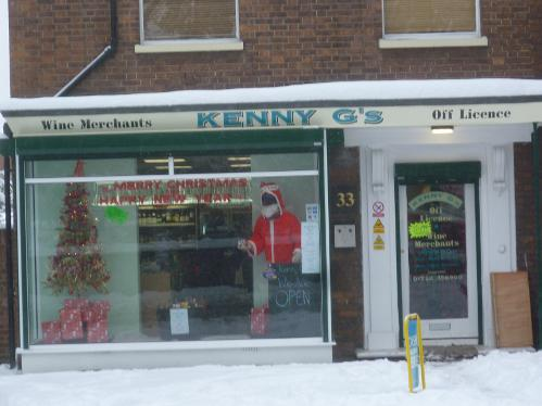 Kenny G's Off Licence Tonbridge