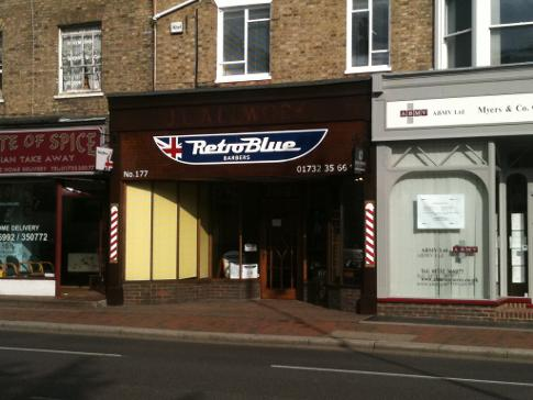 Retro Blue in Tonbridge