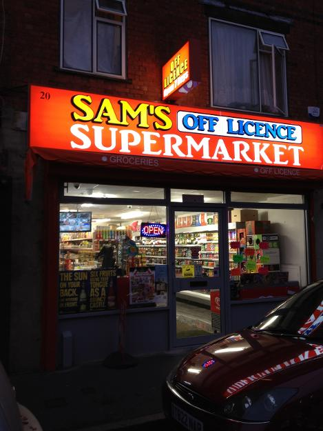 Sam's Off Licence and Supermarket in Tonbridge