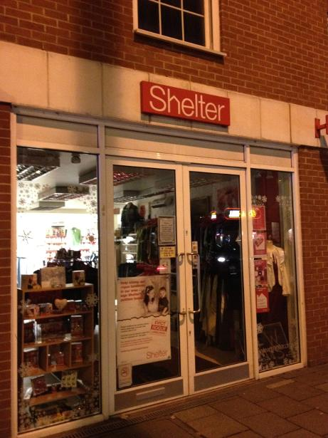 Shelter in Tonbridge