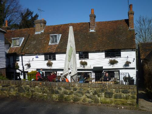 The Spotted Dog Pub Penshurst
