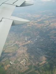 Tonbridge from the air