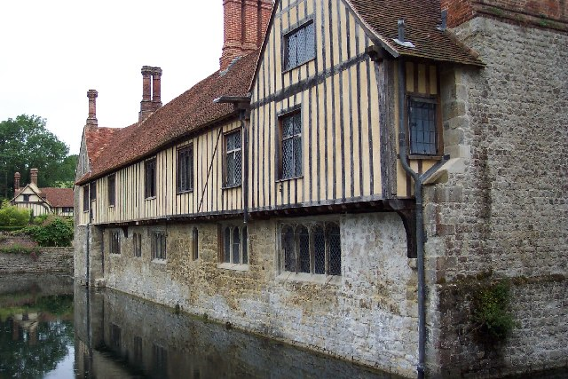 Ightham Mote near Tonbridge